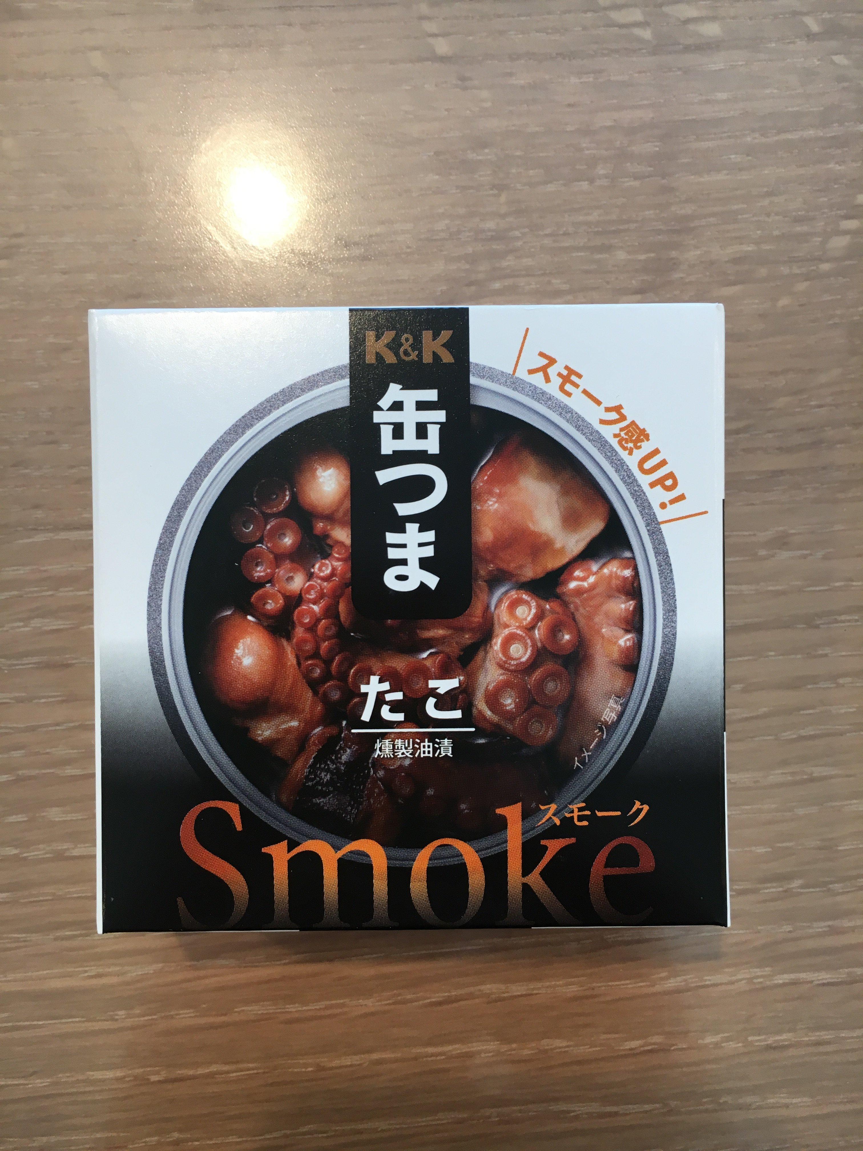 K&K 缶つまsmoke たこ これは微妙